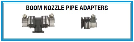 Boom Nozzle Pipe Adapters